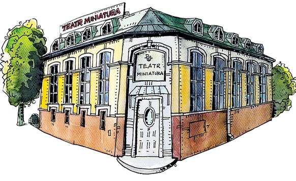 Znalezione obrazy dla zapytania teatr miniatura gdańsk